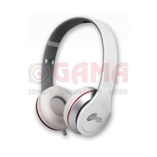 Auricular Stereo Plegable Blanco Ngx10bl Noganet 3008007