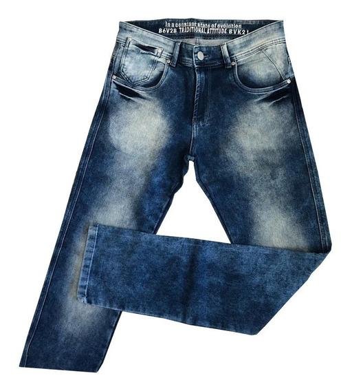 Calça Masculina Jeans Claro Bivik
