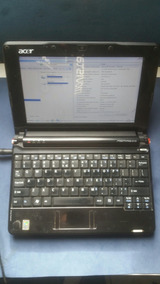 Notebook Acer One Zg5 1.5gb Ram 160hd 10.1 Bateria Extendida