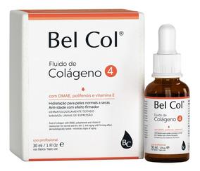 Bel Col 4 Fluido De Colágeno Peles Seca Envelhecidas+ Brinde