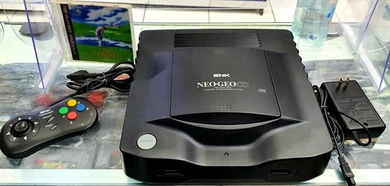 Neo Geo Cd Original 1 Controle 1 Jogo Brinde Fonte