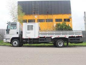 Caminhão Ford Cargo 816 3/4 Cabine Auxiliar E Carroceria