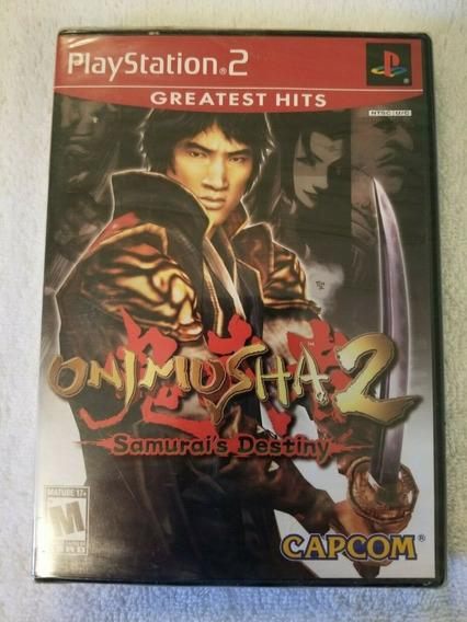 Onimusha 2 Samurai S Destiny - Novo Ps2 Original