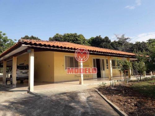 Imagem 1 de 11 de Chácara Com 2 Dormitórios À Venda, 2500 M² Por R$ 680.000 - Zona Rural - Santa Maria Da Serra/sp - Ch0220