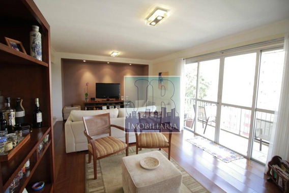 Apartamento Com 4 Dormitórios À Venda, 212 M² Por R$ 1.490.000 - Brooklin Paulista - São Paulo/sp - Ap0424