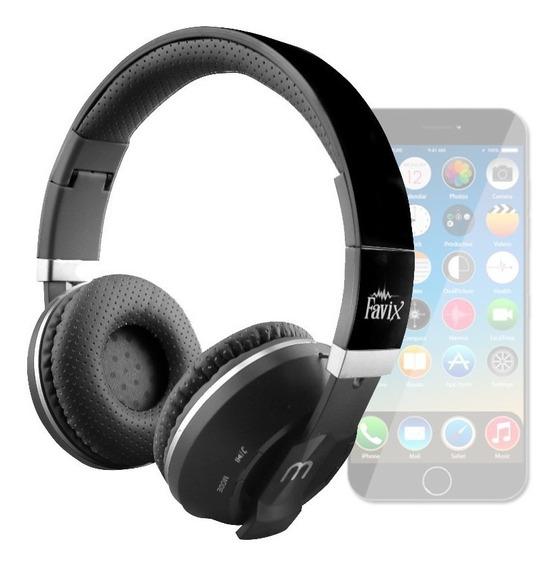 Fone Sem Fio Favix B09 Radio Fm Bluetooth A2dp Original Sd