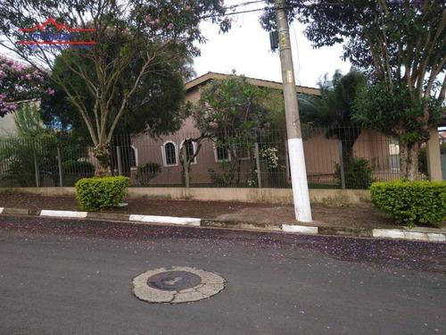 Casa Com 3 Dormitórios À Venda, 350 M² Por R$ 960.000,00 - Vila Loanda - Atibaia/sp - Ca4516