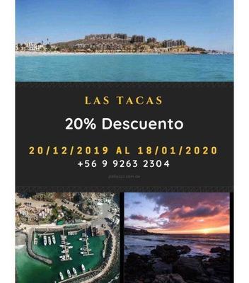 Las Tacas, 20 % Descuento Desde El 20-12-2019 Al Sábado 18-01-2020