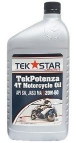 Aceite Para Motos 4 Tiempos 20w 50 Tek Star
