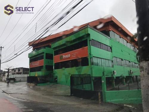 Prédio Para Alugar, 3550 M² Por R$ 57.900/mês - Balneário Praia Do Pernambuco - Guarujá/sp - Pr0013