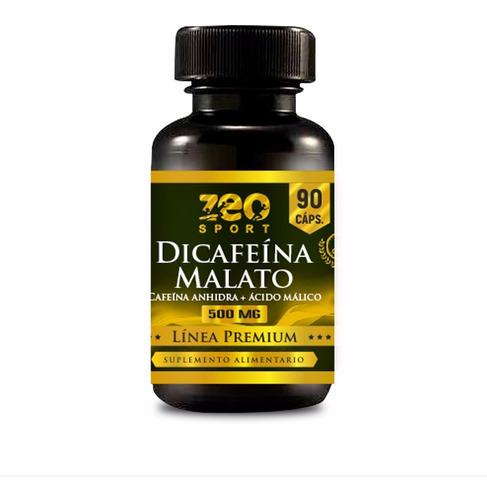 Dicafeína Malato, La Cafeína Mas Poderosa 90 C. X 538 Mg