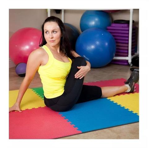 Imagen 1 de 8 de Tapete Yoga Piso Foamy Piso Gym Paq 20 Pzas Msi