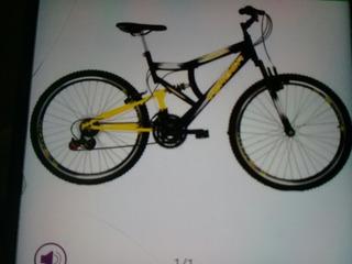 Bicicleta Sundown Brisk Full Suspension 21 Marchas Aro 26