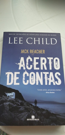 Lee Child Livro Acerto De Contas Bestseller