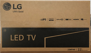 Tv Led 22 LG Modelo 22mt48
