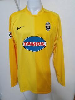 Camisa Juventus Amarela 06-07 Goleiro Buffon 1 Usada Em Jogo