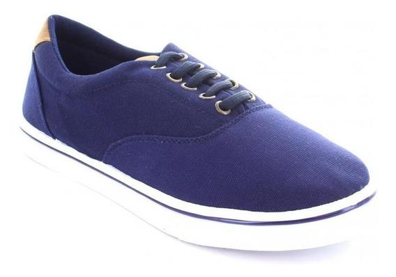 Tenis Para Hombre Emilio Bazan Plimsoll C-040636 Color Azul