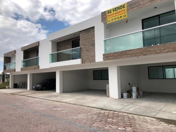 Última Casa En Venta En Conjunto Cerrado En Tlaxcalancingo