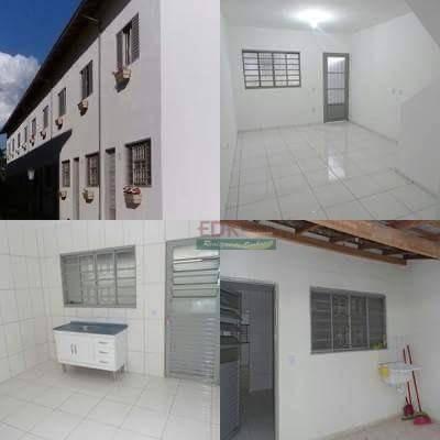 Sobrado Com 2 Dormitórios À Venda, 55 M² Por R$ 127.200 - Jardim Panorama - Caçapava/sp - So0738