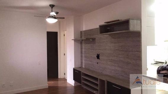 Apartamento À Venda, 57 M² Por R$ 265.000,00 - Parque Villa Flores - Sumaré/sp - Ap4140