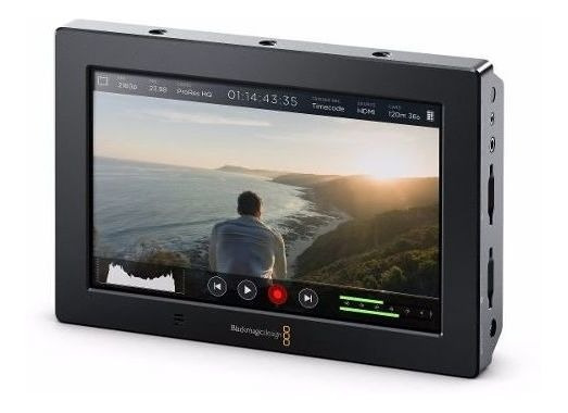 Blackmagic Designer 4k Hdmi/6g-sdi Record Monitor