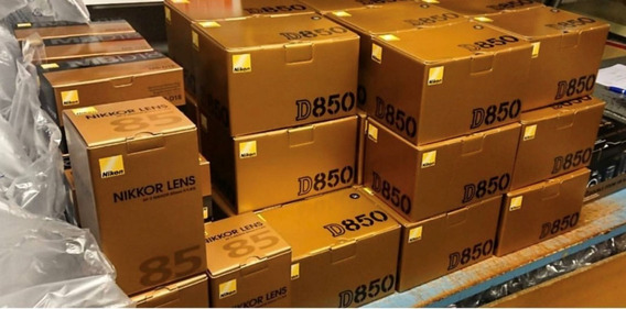 Nikon D850 45.7mp + ( Grip Tripé Bolsa 64gb )