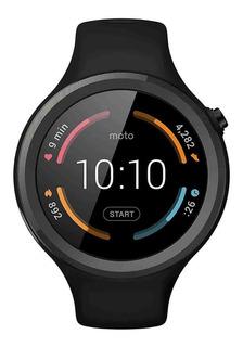 Smartwatch Moto 360 Sport Preto Original Relógio Novo Eua