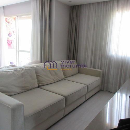 Imagem 1 de 15 de Lindo Apartamento! Bem Iluminado E Muito Verde! Morumbi - Nm2324