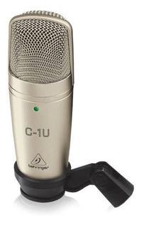 Microfone Profissional Behringer C1 Usb Para Estudio