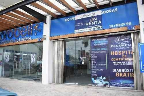 Local Comercial Sobre Avenida La Luna Cancún Quintana Roo