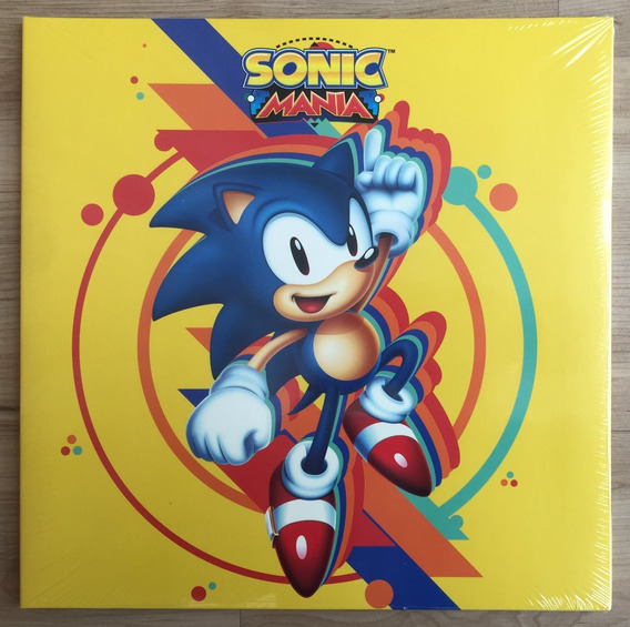 Disco Vinil Lp Original Video Game Soundtrack Sonic Mania