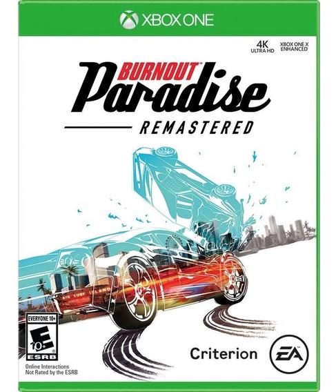 Jogo Ea Games Midia Fisica Burnout Paradise Xbox One Xone