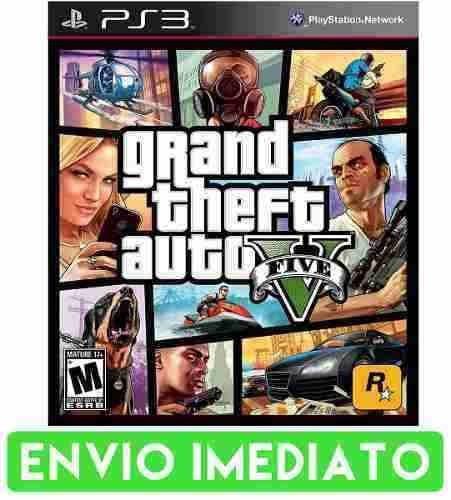 Ps3 Grand Theft Auto V Gta 5 Em Português Envio Imediato