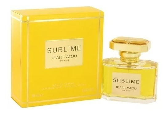 Perfume Jean Patou Sublime Feminino 50ml Eau De Parfum Novo
