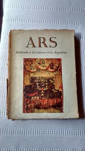 Imagen 1 de 5 de Revista De Arte Ars Dedicado A Cultura Argentina Nº 89 1960