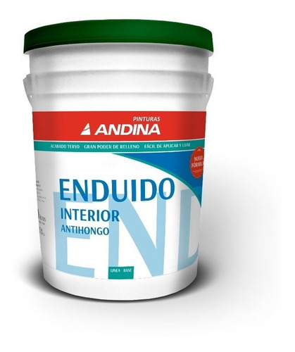 Enduido Interior Andina X 20 Lts Pintumm