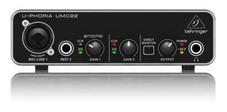 Behringer Umc22 - Interfaces Usb