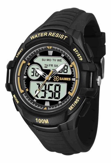 Relógio Xgames Anadigi - Xmppa230 Bxpx C/ Nf E Garantia O