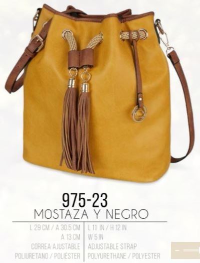 Bolsa De Mano Para Chicas En Color Mostaza