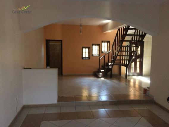 Sobrado Com 3 Dormitórios Para Alugar, 212 M² Por R$ 1.620,00/mês - Jardim Ipê Pinheiro - Mogi Guaçu/sp - So0102