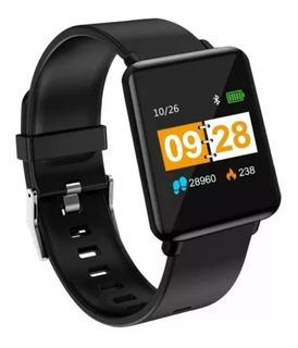 Relógio Inteligente Xanes J10 Preto Bluetooth Notificações
