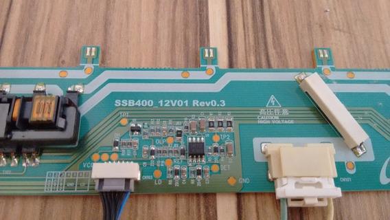 Placa Inverter Samsung Ln40c530f1m - Ssb400-12v01