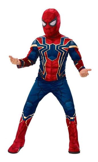 Disfraz Spiderman Avengers Infinity War Importado