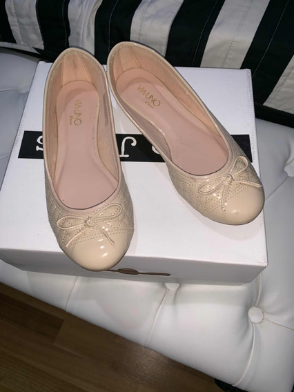Balerinas Color Beige - Talle 39 Via Uno - Con Regalo