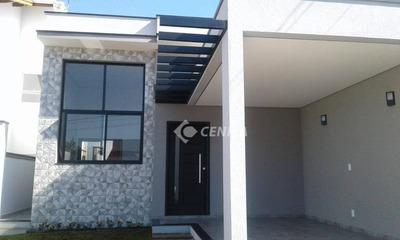 Casa Com 3 Dormitórios À Venda, 105 M² - Condomínio Montreal - Indaiatuba/sp - Ca1856