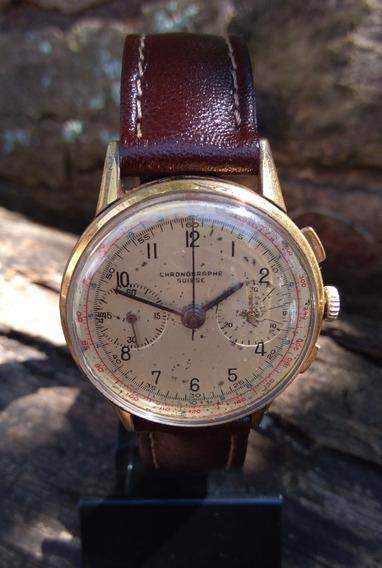 Relógio Chronographe Suisse Crono Landeron 148