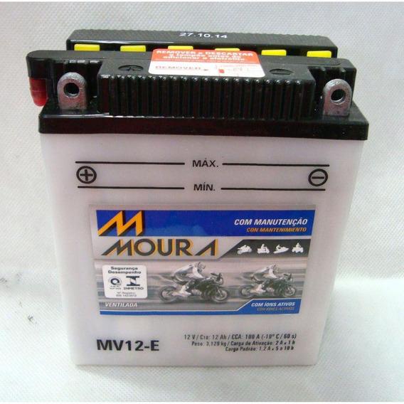 Bateria Moura Cb 450 Dx Cb450 Honda Mv12-e