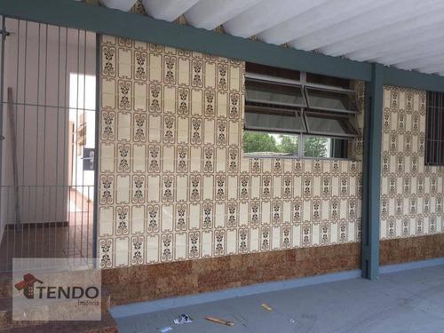 Imagem 1 de 30 de Imob01 - Casa Com 3 Dormitórios À Venda, 200 M² Por R$ 565.000 - Vila Baeta Neves - São Bernardo Do Campo/sp - Ca0106
