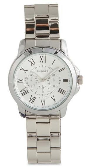 Reloj Thinner 16389 Plateado