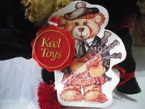 Pelucia Urso Escoces Scottish Piper Keel Toys 20 Cm